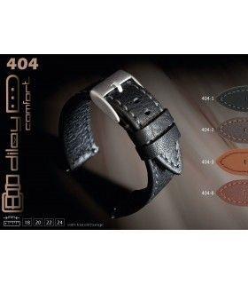 Bracelet pour montre en cuir, Diloy Revolution 404