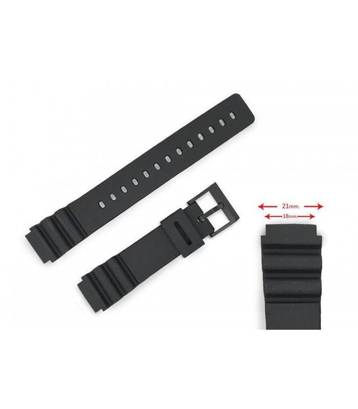 Pulseiras suplentes para relógios Casio, Diloy 289F2