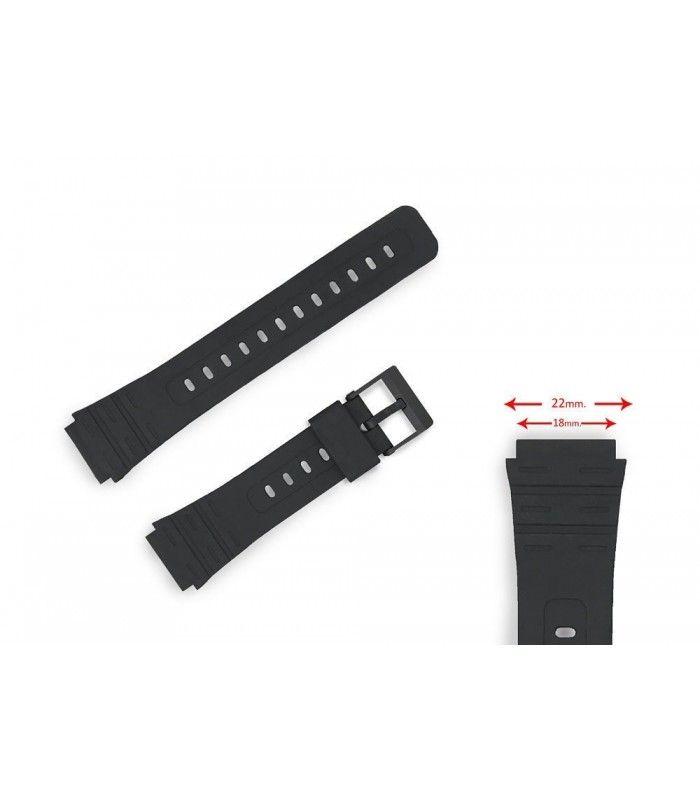 Bracelets de rechange pour montres Casio, Diloy 284P1