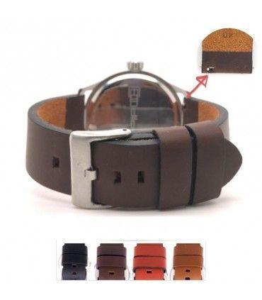 Cinturino orologio in pelle Ref 383