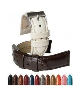 Bracelet pour montre en cuir, Diloy 363