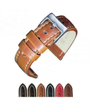 Leather watch straps Ref 377