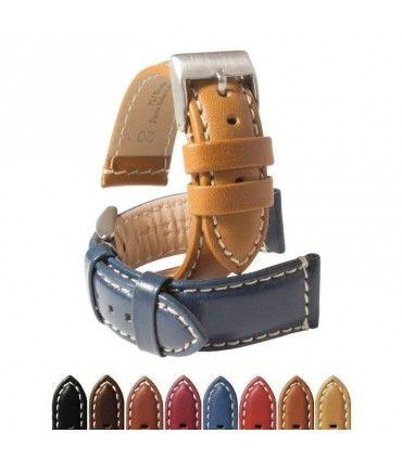 Bracelets de montre en cuir Ref P354