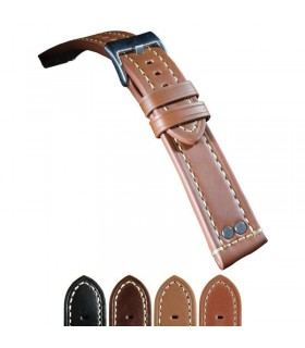Leather watch straps Ref 381