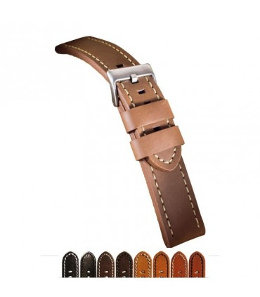 Leather watch straps Ref 384