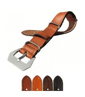 Nato Leather watch straps Diloy 385