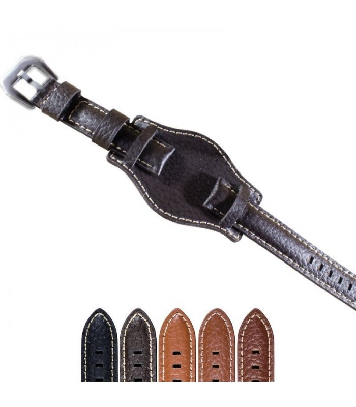 Leather watch straps Diloy 386