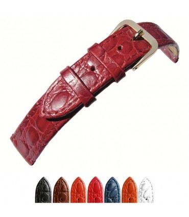Leather watch straps Ref P209