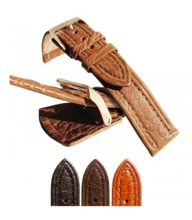 Leather watch straps Ref P188