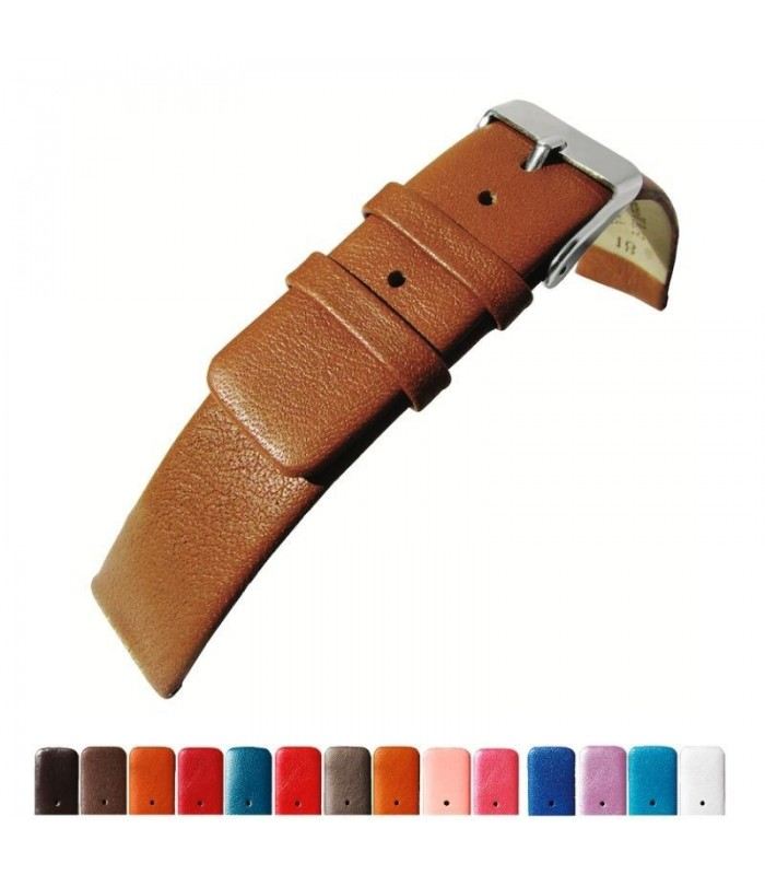 Leather watch straps Diloy 327
