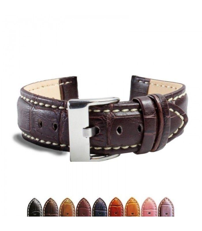 Bracelet pour montre en cuir, Diloy 378