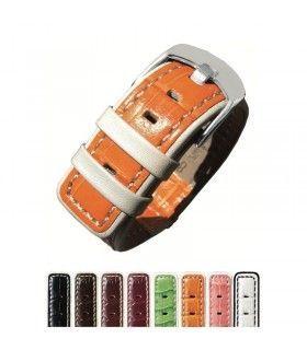 Bracelet pour montre en cuir, Diloy 340
