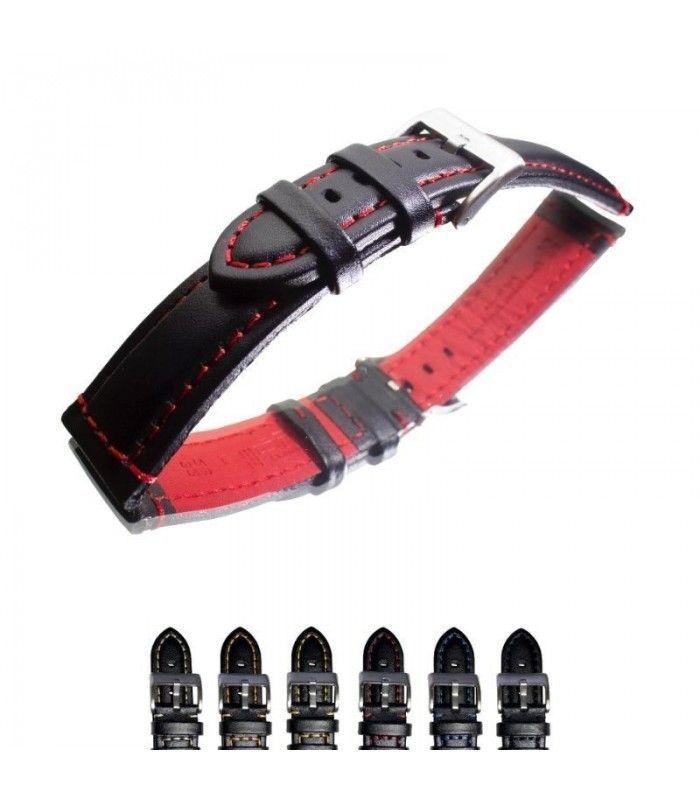 Bracelet pour montre en cuir, Diloy 393
