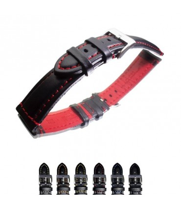 Leather watch straps Ref 393