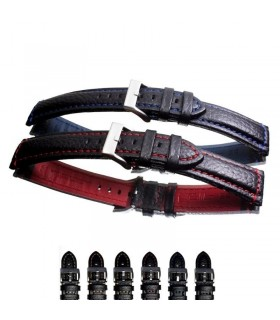 Premium leather watch strap diloy 394