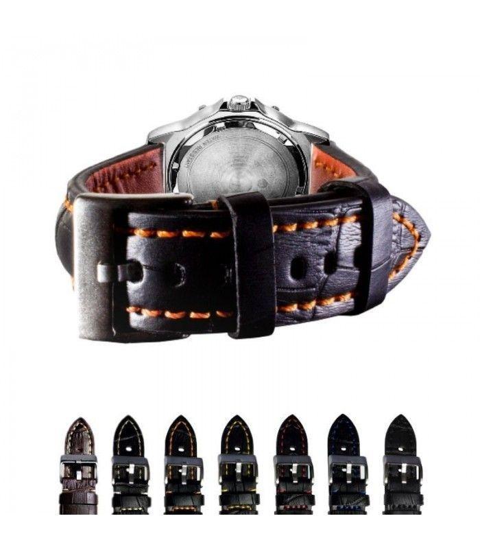 Bracelet pour montre en cuir, Diloy 395