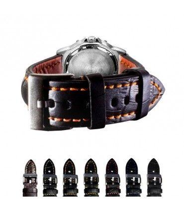 Bracelets de montre en cuir Ref 395