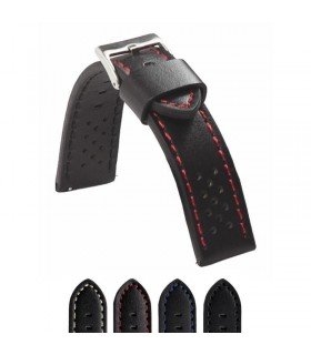 Cinturino orologio in pelle Ref 398