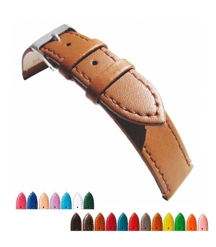 Leather watch strap diloy 304 extra lenght