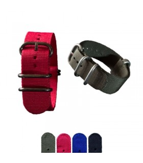 Nato watch band or strap, Diloy 409 - Zulu