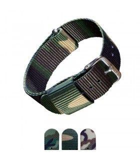 Pulseiras NATO para relógio, Diloy 410 - Nato Military