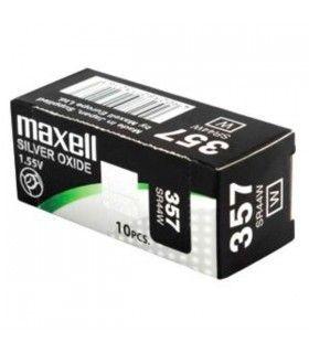 Bateria do relógio MAXELL 357/303/SR44N