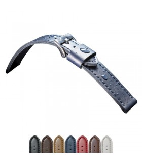 Paski do zegarkow skorzane Model 415