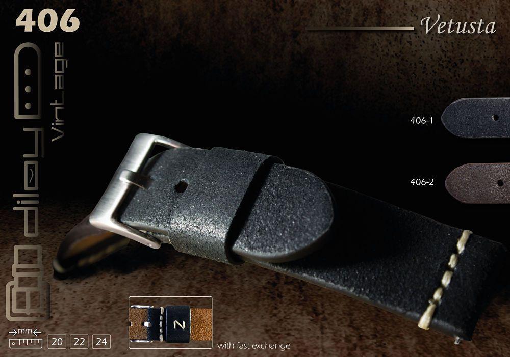 Paski do zegarkow rzemienne Diloy