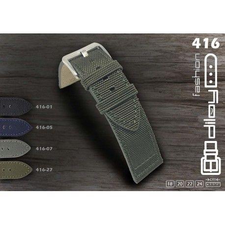 Correas de reloj fabricadas por Diloy con Kevlar