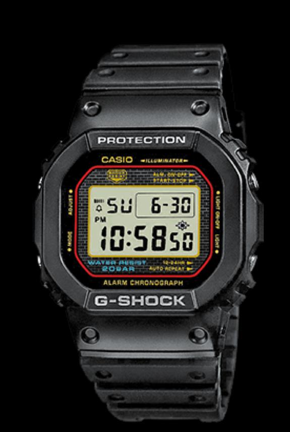 35 años del Casio G Shock