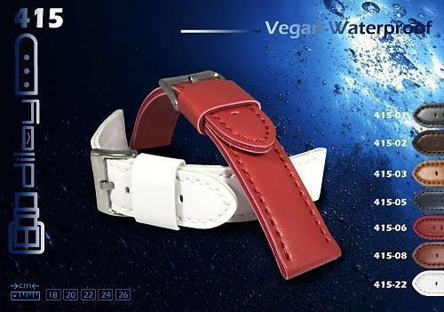 Water-resistant watch strap. The best option for Summer