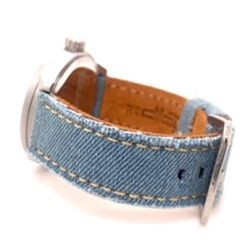 Denim watch straps